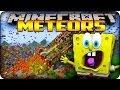 Minecraft Mods - METEORS HIT BIKINI BOTTOM MAP! - Meteors Mod Showcase