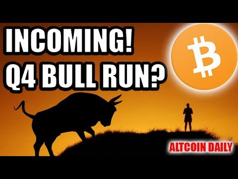 Incoming Q4 Bitcoin Bull Run? [Cryptocurrency News & Motivation]