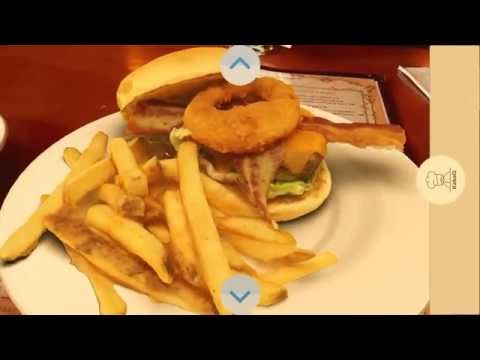 Augmented Reality Food Menu