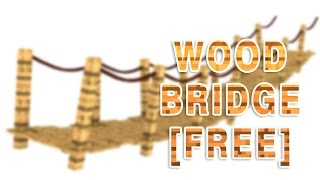 Wood Bridge [cinema 4d] - Free Download