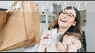 WHAT\'S IN MY DIAPER BAG | Samantha Broderick