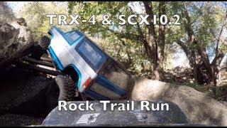 TRX4 & SCX10.2 Rock Trail Run - R/C Arsenal
