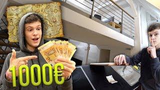 1.000€ TREASURE HUNT in 5.000.000€ Wohnung spielen!