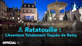 Disneyland Paris - À la découverte de Ratatouille : L'Aventure Totalement Toquée de Rémy 👨🍳🐀
