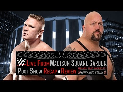 WWE Live from Madison Square Garden Special Event Recap & Review Post Show