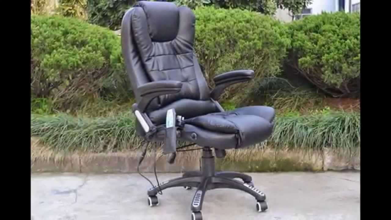 6 points massage office chair YouTube