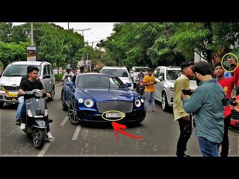 Dubai's NEW Bentley CGT in INDIA(Hyderabad)!!