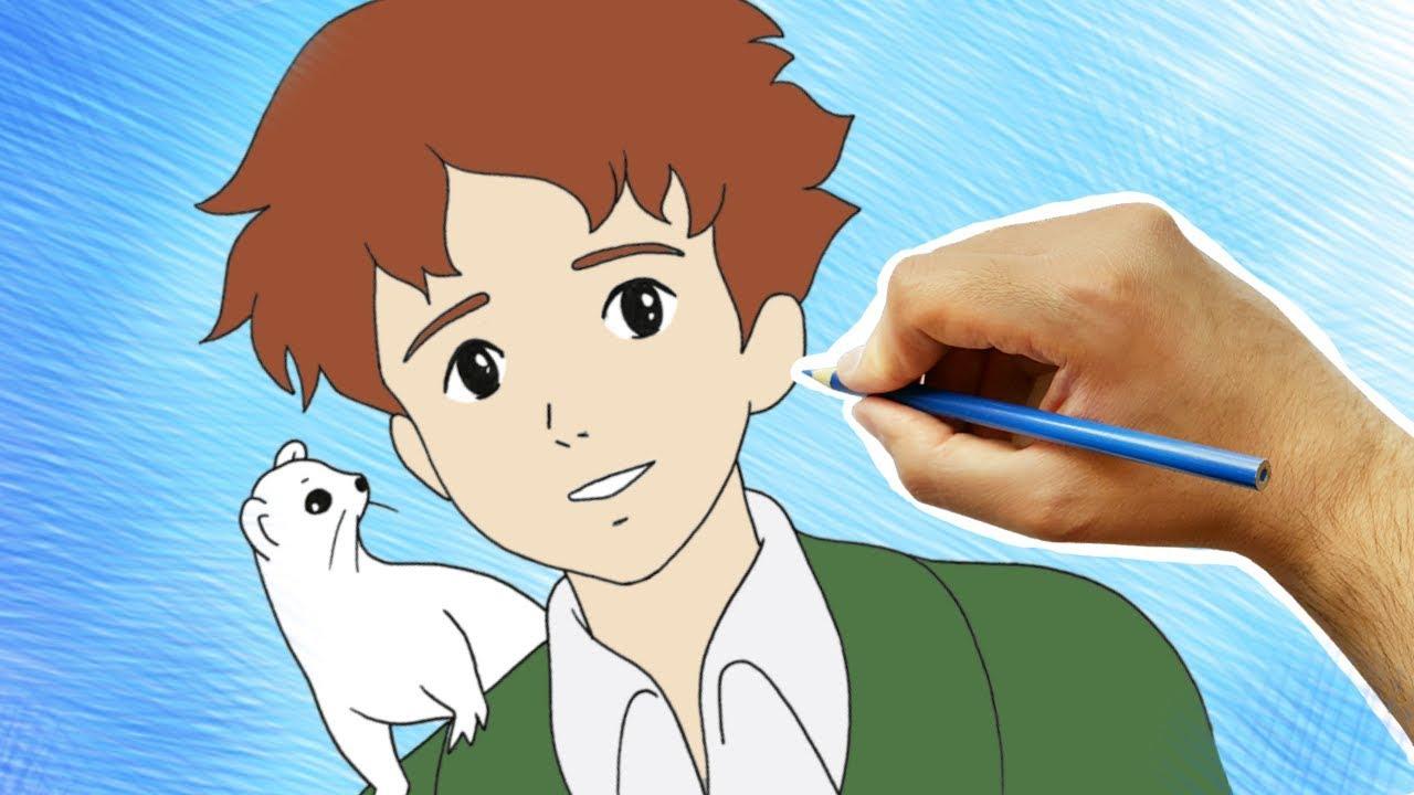 رسم روميو من انمي عهد الأصدقاء تعليم رسم الانمي Youtube