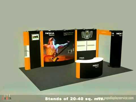 5 In 1 Trade Show Booth Display Designs Las Vegas