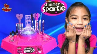 Cra Z Art Shimmer N Sparkle Light Up Nail Design Studio Ambi C