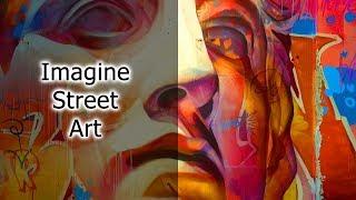 Imagine Street Art от Samsung в Берлине