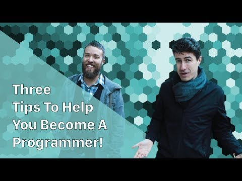 Three Tips To Help You Become A Programmer