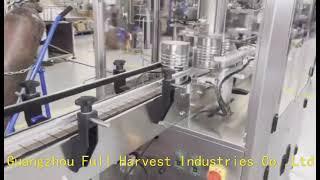 완전 자동 진공 질소 충전 씰링 기계, 분유는 기계를 …