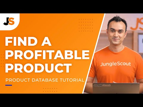Amazon FBA Product Research   How to Use Jungle Scout - Product Database   2021 Tutorial
