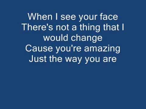 Bruno Mars - Just The Way You Are LYRICS