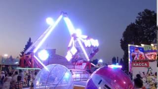 Развлечения в Анапе.Парк развлечений для детей.Аттракционы в Анапе(Анапа очень богата на аттракционы. К примеру взять маятник с высоты которого хорошо видно окрестность..., 2016-02-12T18:28:04.000Z)