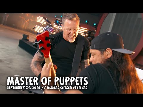 Metallica: Master of Puppets   Global Citizen  New York, NY  2016