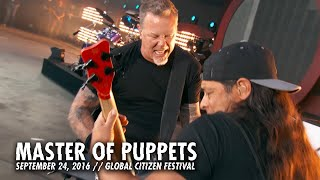 metallica master of puppets live   global citizen   new york ny   2016