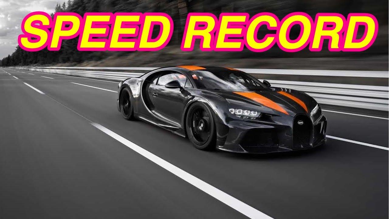 bugatti chiron super sport goes 300 mph youtube