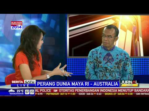 Dialog: Perang Dunia  Maya RI-Australia