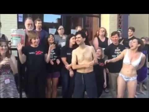 Community in naked nude sleeping type