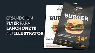 Como criar um flyer para lanchonete com Illustrator e Photoshop