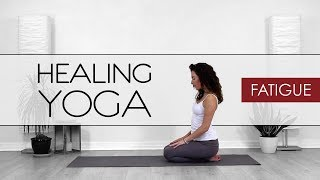 Healing Yoga - Yoga For Fatigue / Tiredness With Lotus Flower Yoga
