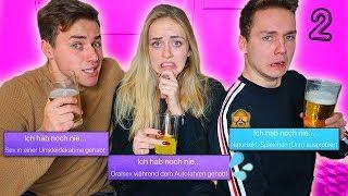 ICH HAB NOCH NIE! Unsere GEHEIMNISSE! mit Carina Spoon Teil 2 | Max und Chris