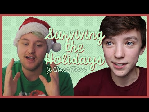SURVIVING THE HOLIDAYS WHEN YOU'RE LGBTQ ft Chase Ross!!  [CC] | ChandlerNWilson