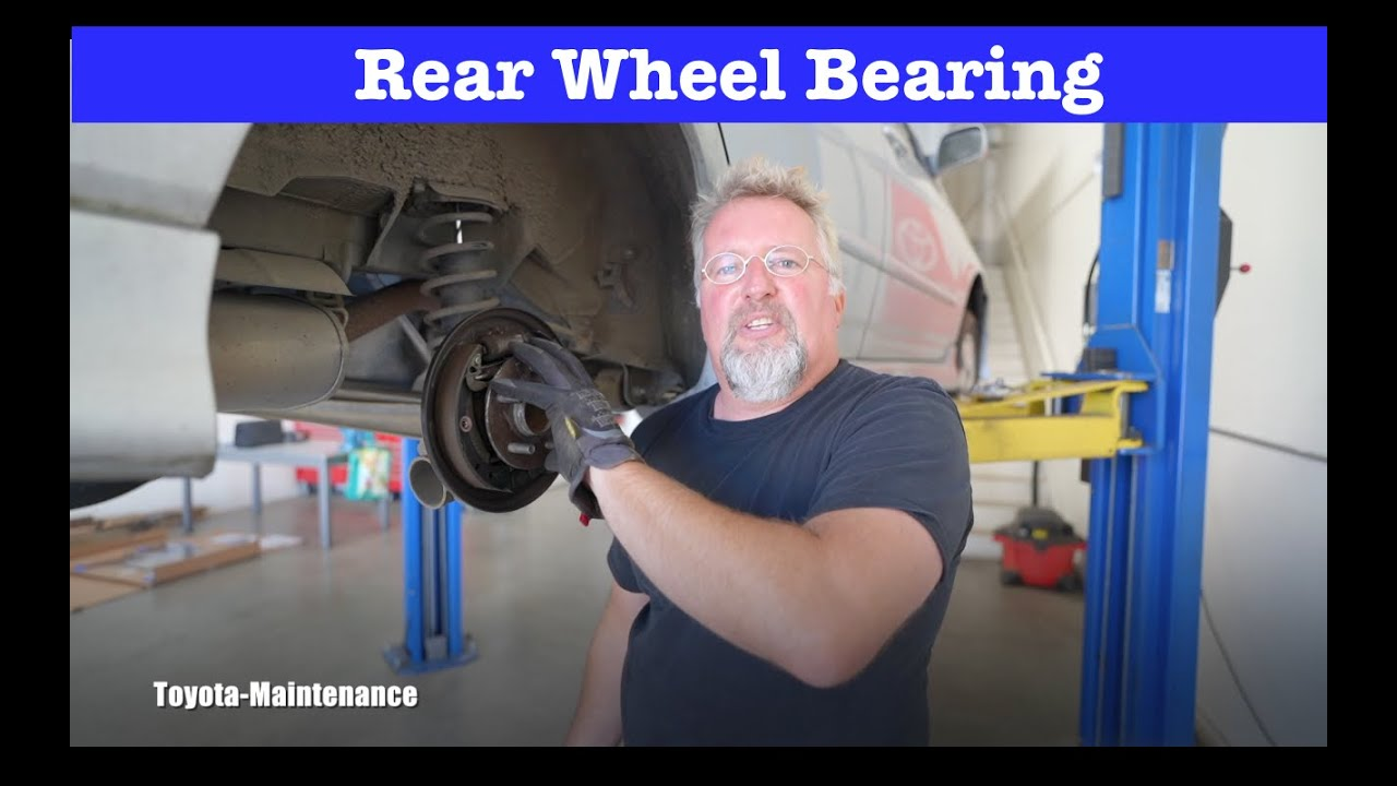 2005 Toyota Corolla Wheel Bearing Replacement