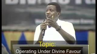 Operating Under Divine Favour by Pastor E. A. Adeboye