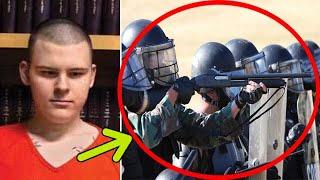 Как один слепой подросток тайно управлял группой полицейского спецназа!