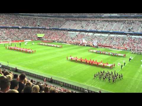 Audi Cup 2015 opening ceremony!
