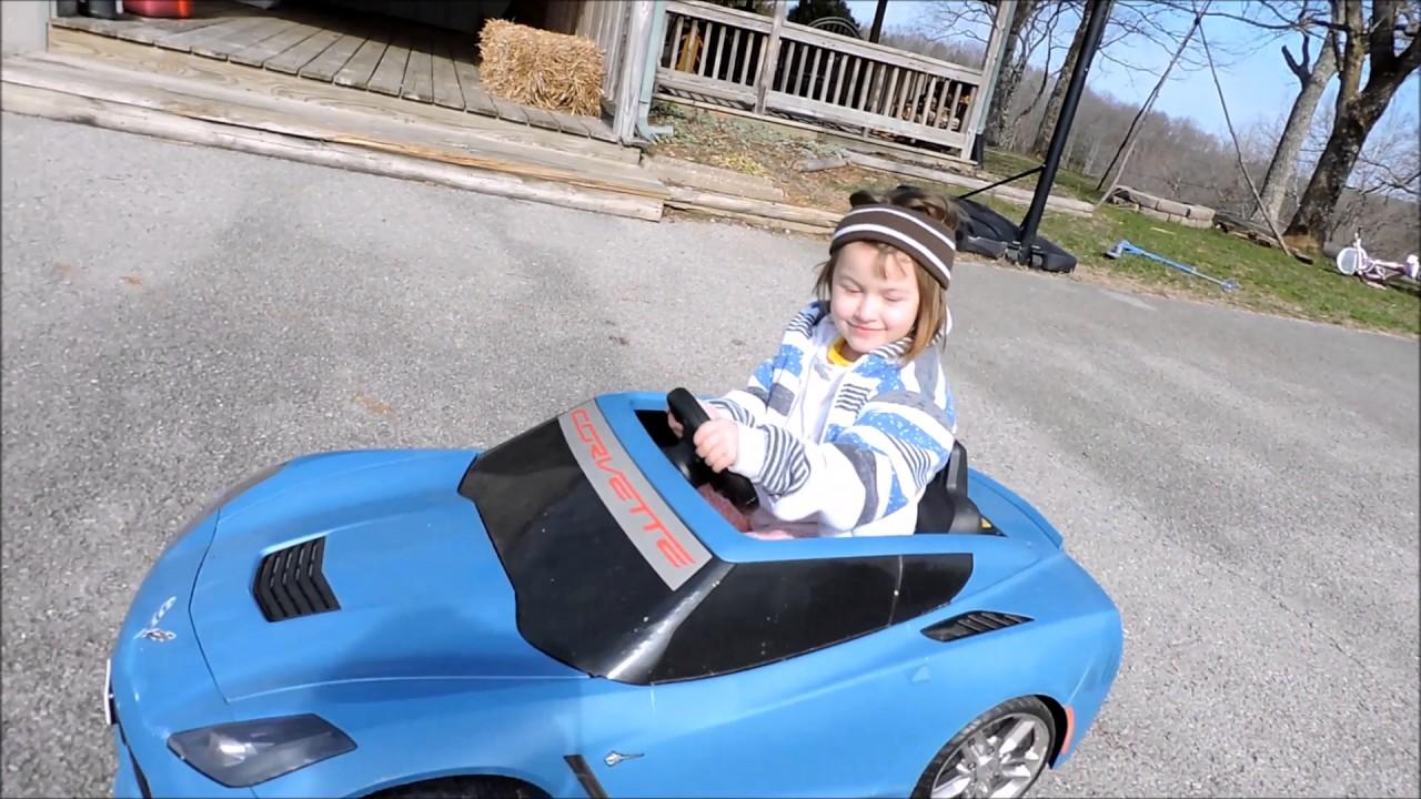 Fisher Price 2017 Wheels C7 Corvette Stingray 12 Volt Battery Operated For Kids