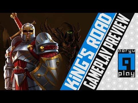 King's Road - Primeiras Impressões - Gameplay Preview - Derrotando vilões na estrada do Rei