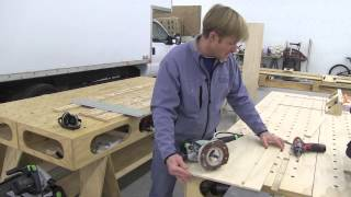 Building The Paulk Total Station Part 9 Miter Saw Base And Supports