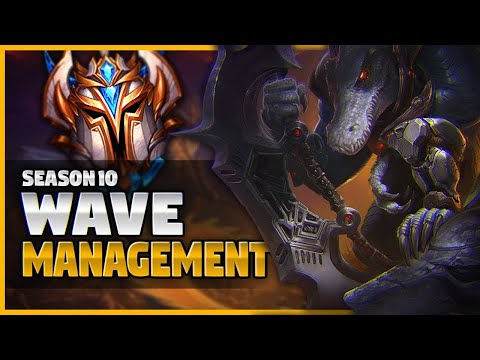 How To Top Lane Like A Challenger #5 - Wave Management And Control Guide