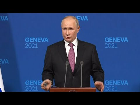 Putin's full press conference after meeting with Biden in Geneva (English translation)