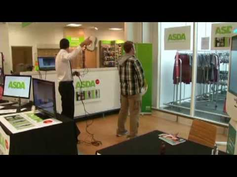ASDA 3D PRINTING (British supermarket offers shoppers three dimensional printing service)