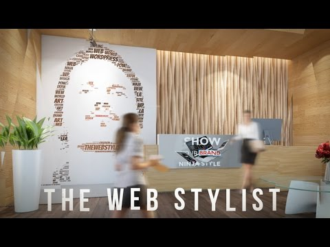 THE WEB STYLIST 2017 - New mage splice based promo via After Effects