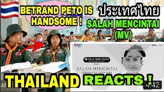 THAILAND REACTS ! BETRAND PETO PUTRA ONSU - SALAH MENCINTAI ( Official Music Video )