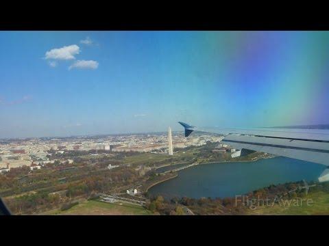 Delta Airbus A320 Detroit (DTW) - Washington Reagan (DCA) Flight Experience