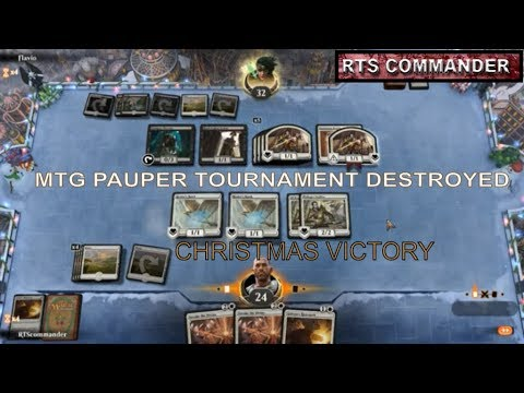 Mtg Arena Pauper Live Tournament Victory Christmas Eve Magic The