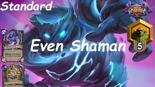 Hearthstone: Even Shaman #12: Boomsday (Projeto Cabum) - Standard Constructed