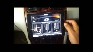 How to install ipad or iphone or android tablet in car, also best OBD app like DashCommand