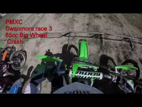 PMXC Swanmore 85cc Big Wheel *CRASH*