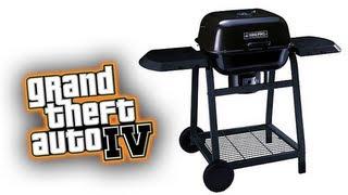 GTA IV : Why You Using My BBQ?
