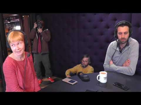 Will Burrard-Lucas visiting Radio Helsinki