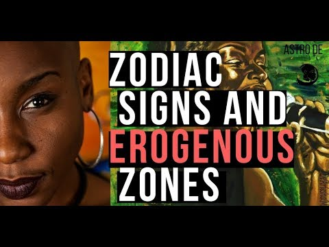 Astro de's Astrology and Zodiac sign erogenous zones (Medica