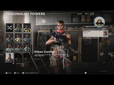 Call of Duty BO Cold War live.  Smash or Pass: Powers 'Urban Conflict'.